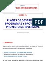 Sesión 02 Planes, Proyecto Inversión