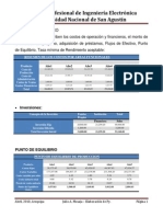 Avicola Criave - Estudio Economico