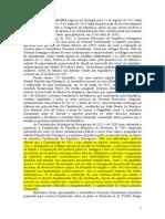 A Constituição de 1911 Vigorou Em Portugal Entre 21 de Agosto de 1911