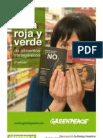 Guía roja y verde de alimentos transgénicos 4ta ed. - Greenpeace (Argentina)