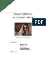 Historia de La Devoción a La Virgen Del Carmen en Chile