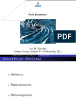 Fluid Equations