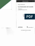 21 Zemelman_Hugo Los Horizontes de La Razón (Prólogo y Capítulo 1)