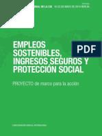 Empleos Sostenibles, Seguros, Proteccion Social