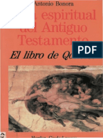 Bonora Antonio- Guia Espiritual Del Antiguo Testamento - El Libro de Qohelet