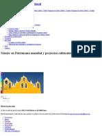 Máster en Patrimonio Mundial y Proyectos Culturales Para El Desarrollo _ Universitat de Barcelonapreços