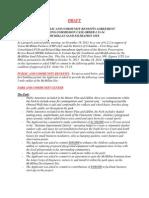 ANC5E Draft Community Benefits Agreement 2014 05 22