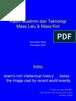 Kaum Muslimin Dan Teknologi Masa Lalu & Kini