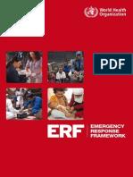 Emergency Response Framework ENGLISH