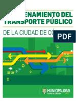 Reordenamiento Transporte Público Córdoba