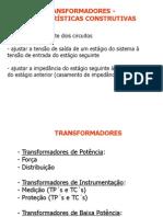 Transformadores - Caracteristicas