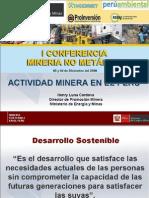 Conferencia de Mineria No Metalica
