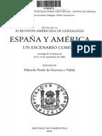 Actas de La XI Reunión Americana de Genealogía