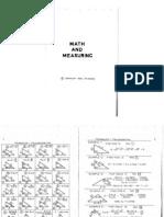 Math and Measuring P.R. Nolen