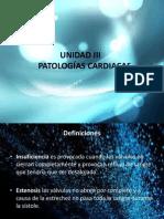 Unidad_III. Patologias Cardiacas