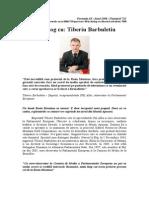 In Dialog Cu Tiberiu Barbuletiu