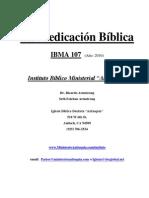IBMA107 Predicación Alumno 2010