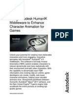Using Humanik to Enhance Character Animation for Games Whitepaper Us