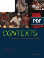 2014 Contexts--Annual Report of the Haffenreffer Museum of Anthropology