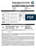 05.22.14 Mariners Minor League Report