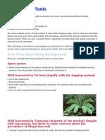 Sustainable Plants
