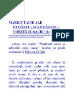 Marile Taine Ale Pamântului Românesc