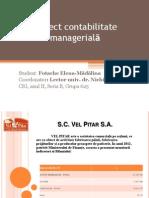 Proiect contabilitate managerialã