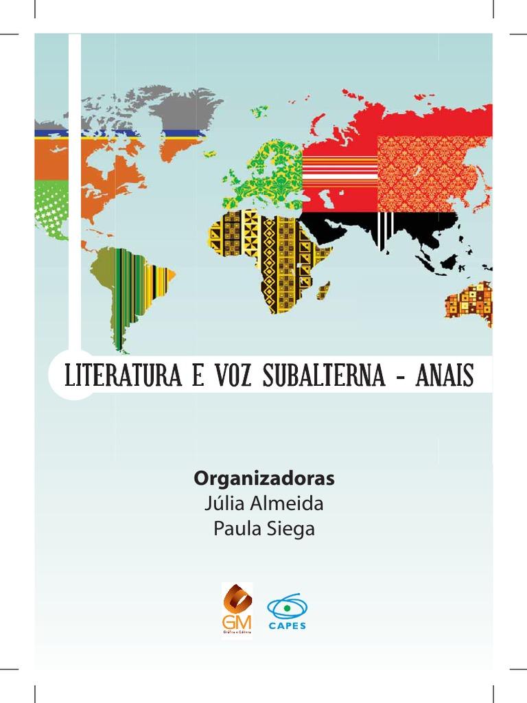 XV CEL - 2013 - Literatura e voz subalterna 0.pdf 95e97258403cf