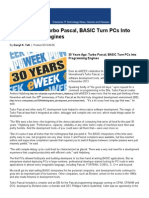 30 Years Ago_ Turbo Pascal, BASIC Turn PCs Into Programming Engines