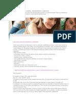 La Adolescencia-Empiezo a Cuidar Mi Cuerpo, Alimentación y Ejercicio