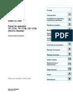 Manual Hmi Op177b Pn-dp