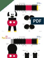 Mickey Paperdoll