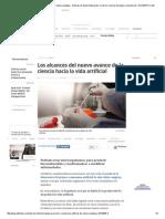 Logran Primer Cromosoma Artificial de Célula Compleja - Noticias de Salud, Educación, Turismo, Ciencia, Ecología y Vida de Hoy - ELTIEMPO