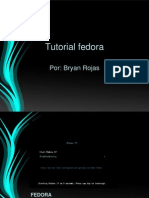 Tutorial Fedora