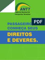 Direito e Deveres Dos Passageiros - ANTT