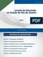 Panorama Da Educação No Rio de Janeiro