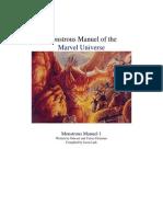 Marvel Monster Manual 1