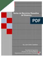 Serie de Ejercicios Resueltos de Dinamica - Juan Ocariz Castelazo