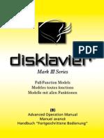 Disklavier Mark III Full-Function Models GP, UP (B) (1 of 2)