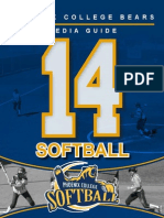 2014 PC Softball Media Guide