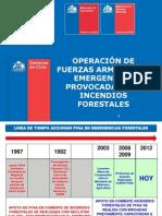 Ffaa en Emergencias de Incendios Forestales