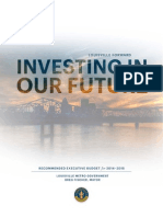 2014-2015 Louisville Metro Government Executive Budget