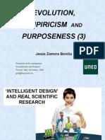 Evolution, Empiricism & Purpose 3