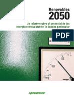 Energias Renovables 2050 Greenpeace