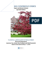 April 2014 REALTORS® Confidence Index