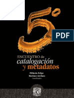 V Encuentro Catalogacion