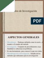 Metodos Cap i Aspectos Generales 2014