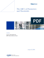 The ABS's of Parameters and Thresholds.pdf