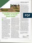 Australians Investigate Viability of Zoysiagrass Down Under