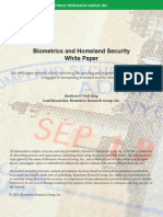 Biometrics and Homeland Security